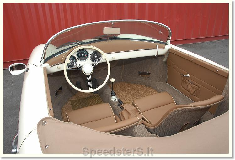 Galleria Immagini Porsche Speedster 356 Replica Particolari